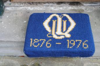 Kneeler - Donated By: St. Andrews Mother Union; Worked By: Lydia Hammond;