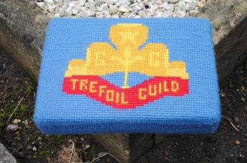 Kneeler - Donated By: 1st Dalton Girl Guides; Dedicated To: Caroline  Davidson;