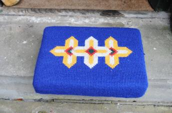 Kneeler - Donated By: In loving memory, Dearest Wife and Mother; Dedicated To: Daphane Briggs;