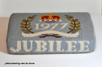 Kneeler - Worked By: Florence Brammer;