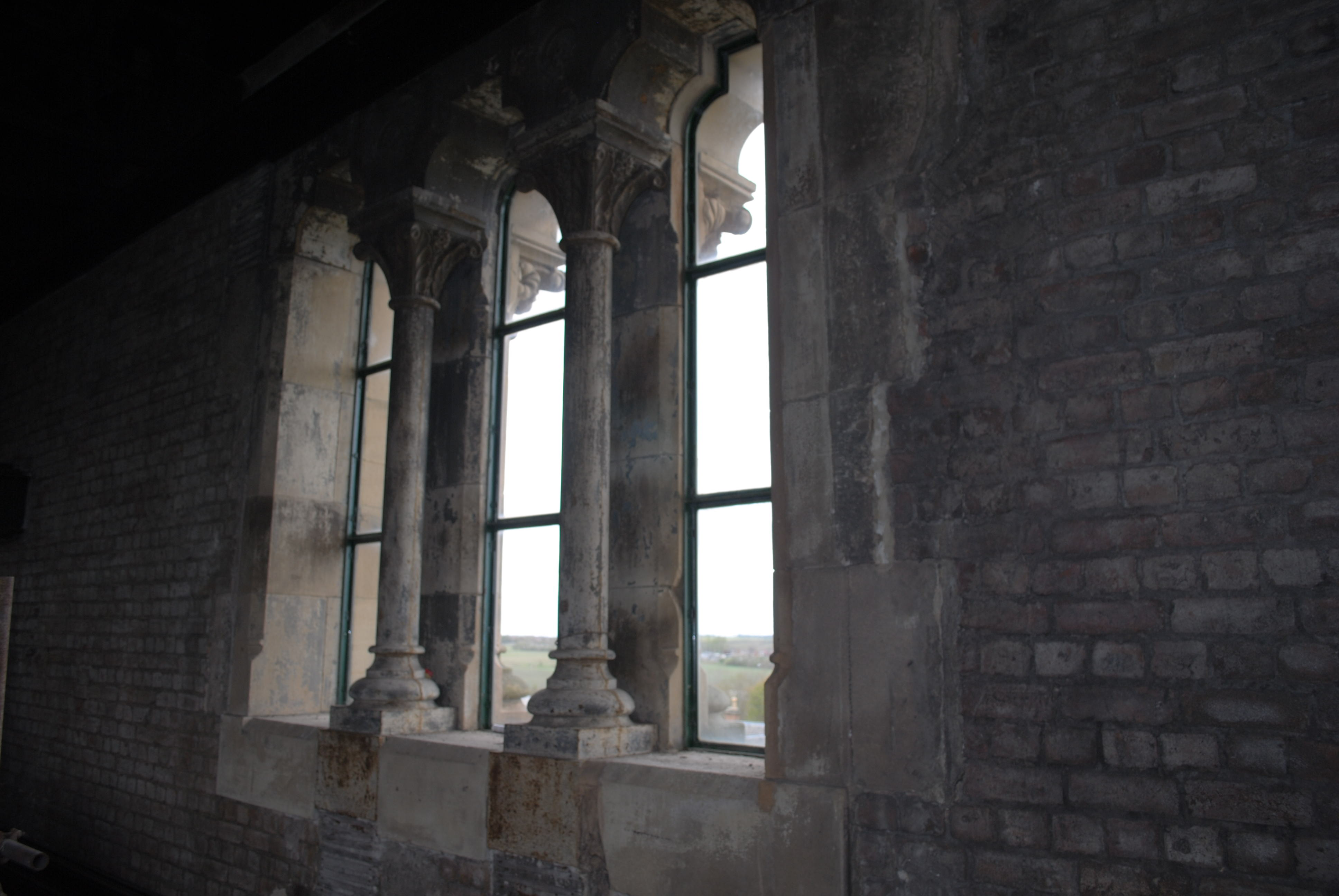 Columned Windows Internal View