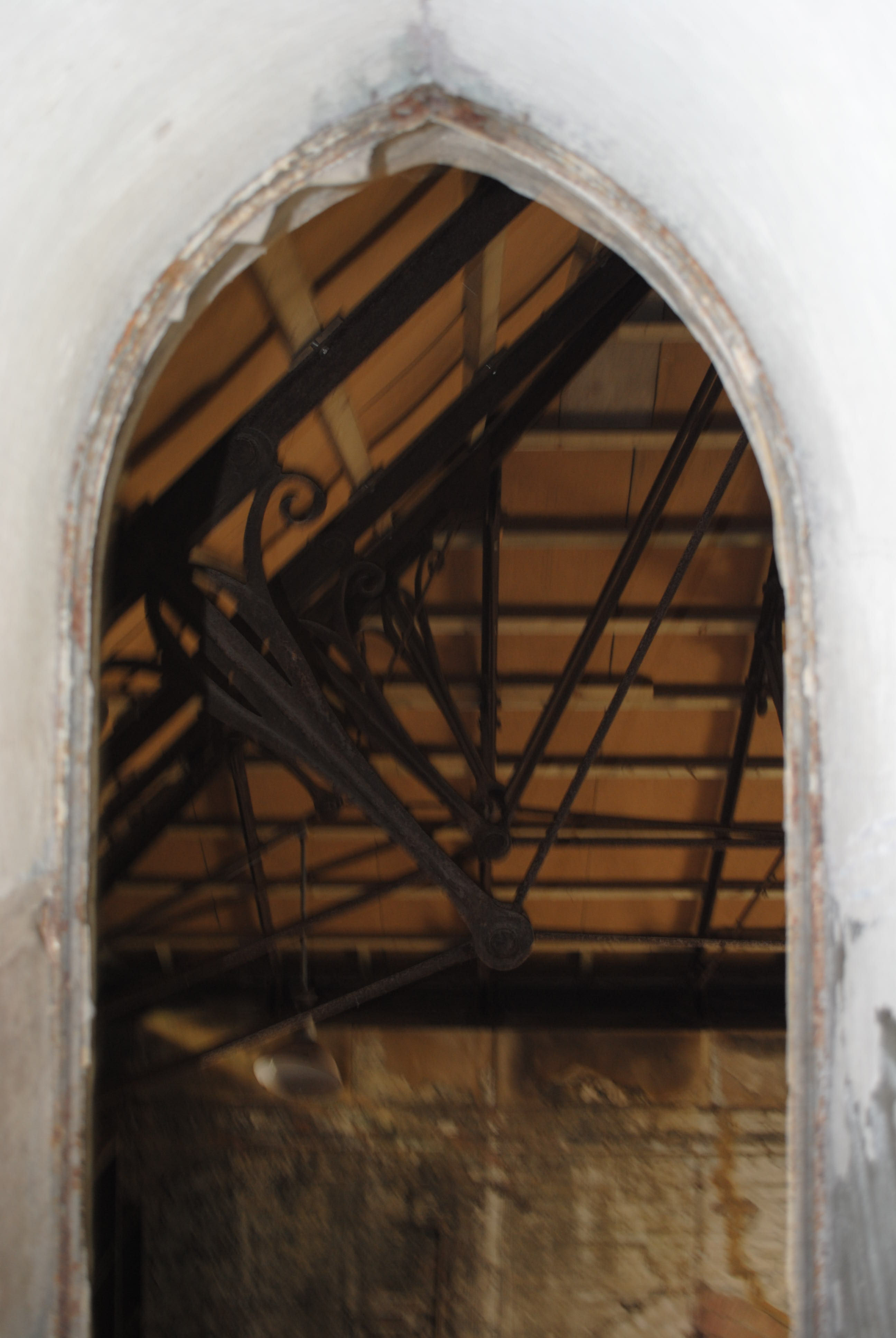 View from Stair Tower Archway into Smiths